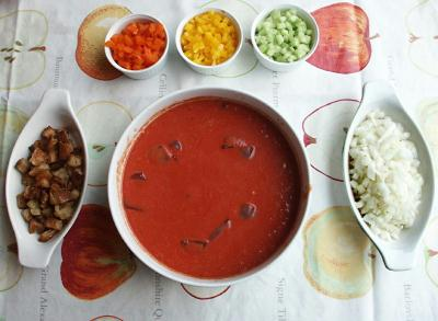 gazpacho Country Cuisine: 3 Recipes to Keep your Cool in the Heat