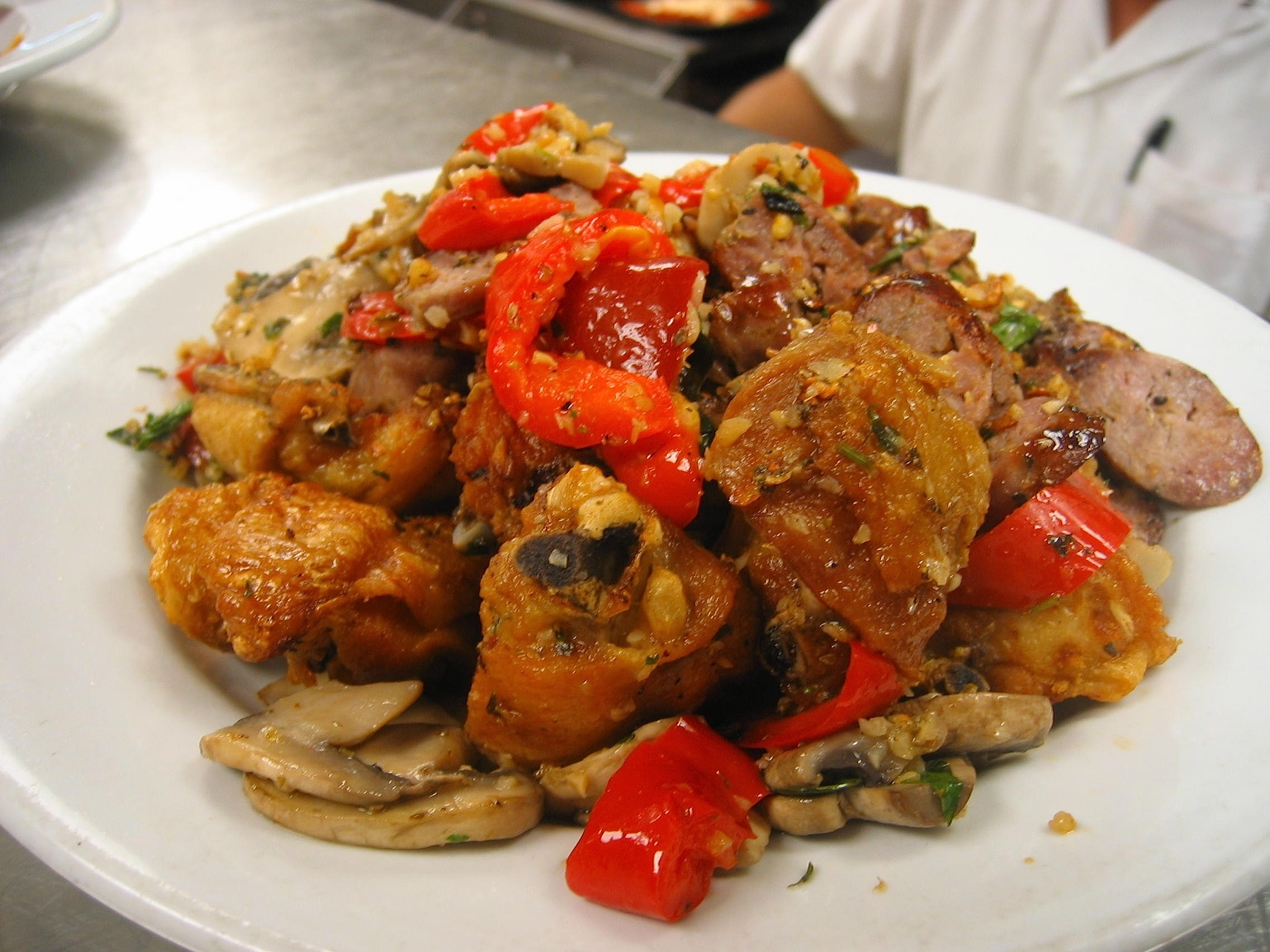 pork chops with pork chops with marinated pork chops with peppers pork ...